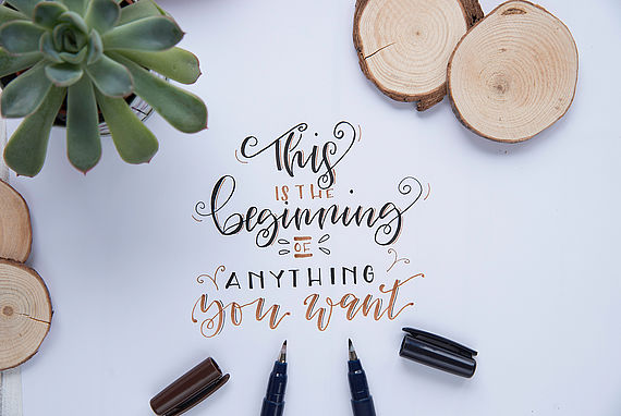 Hand Lettering Instructions and Tips