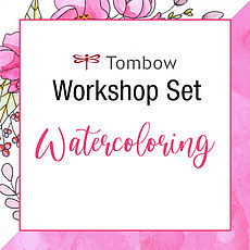 Tombow Online Workshop Watercoloring Set