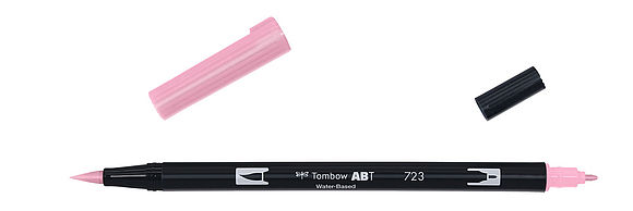 ABT Dual Brush Pen 723 pink