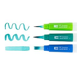 Water Brush set of 3