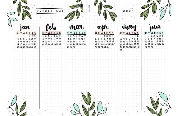 Free Bullet Journal Templates