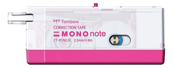 MONO note transparent pink