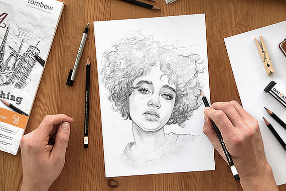 Drawing Portraits in Pencil
