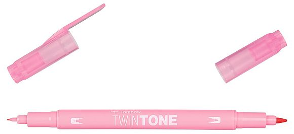 TwinTone pale rose
