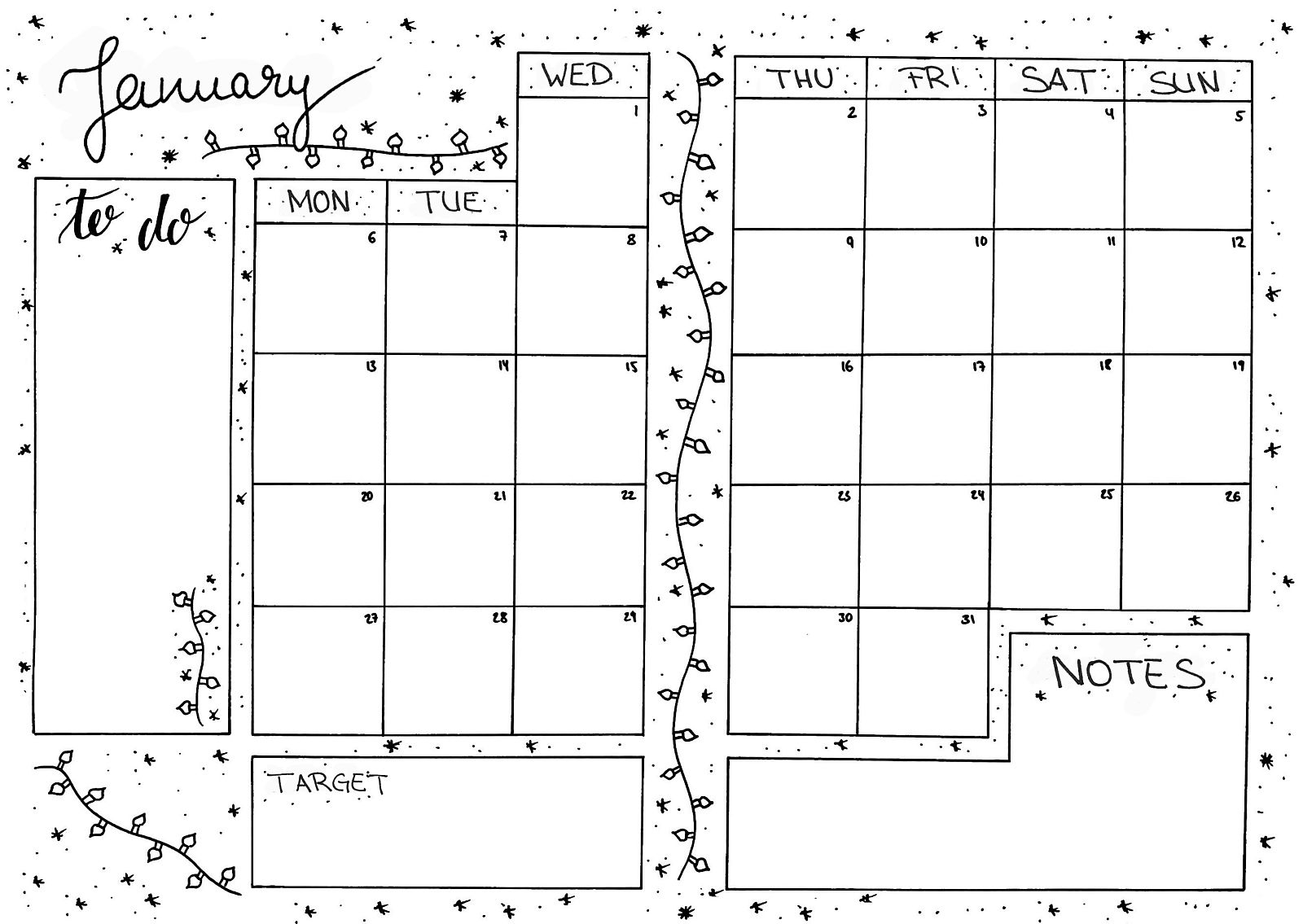 Bullet Journal Plan Track And Keep An Overview 14