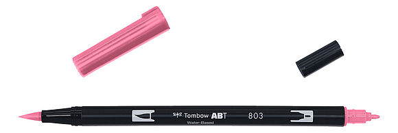 ABT Dual Brush Pen 803 pink punch