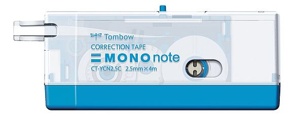 MONO note transparent blau