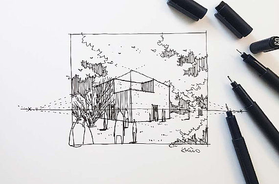 Principles of perspective drawing