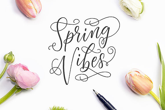Flourishing – lettering with flair